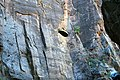 A View of the Zion Tunnel from Atop the Last Rappel in Pine Creek - Zion National Park DyeClan.com - panoramio.jpg