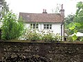 A flint wall hides Hengrove Cottage beside the Ridgeway, Chivery - geograph.org.uk - 1320672.jpg