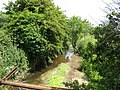 A placid Afon Braint upstream of the footbridge - geograph.org.uk - 849437.jpg