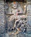 A relief of Lord Narasimha on walls of Sri Mukhalingam Temple 01.jpg