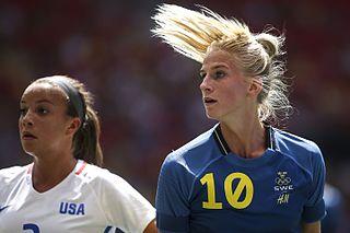 Sofia Jakobsson Swedish footballer