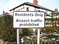 A sign in a residential area near Leeds Bradford Airport.jpg