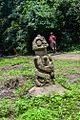 A statue at Shrine and Sacred Grove Of Osun that depict Esu.jpg