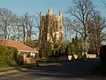 A view of All Saints church from Church Street in Haslingfield - geograph.org.uk - 1245042.jpg