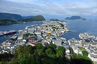 Ålesund Municipality in Møre og Romsdal, Norway