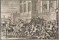 Aanval te Madrid op het rijtuig van de graaf van Olivares, Gaspard de Gusmán, 1643, RP-P-1896-A-19368-1973.jpg