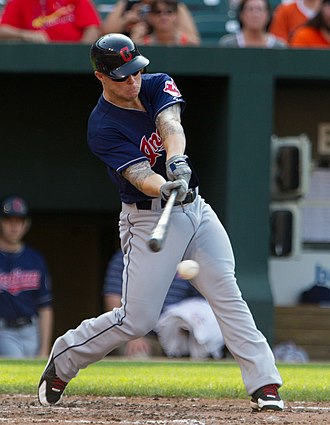 Aaron Cunningham - Cunningham with the Cleveland Indians