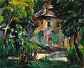 Aba-Novák In the Garden of a Zugliget Villa 1926.jpg