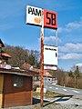 Abandoned gasoline price board in Büren.jpg