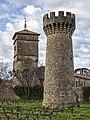 Abbaye de Cassan - Towers 01.jpg