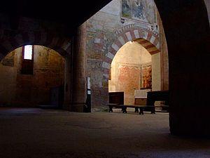 Buttigliera Alta - Interior of Sant'Antonio di Ranverso