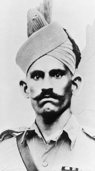 Abdul Hafiz (VC) - Image: Abdul Hafiz VC