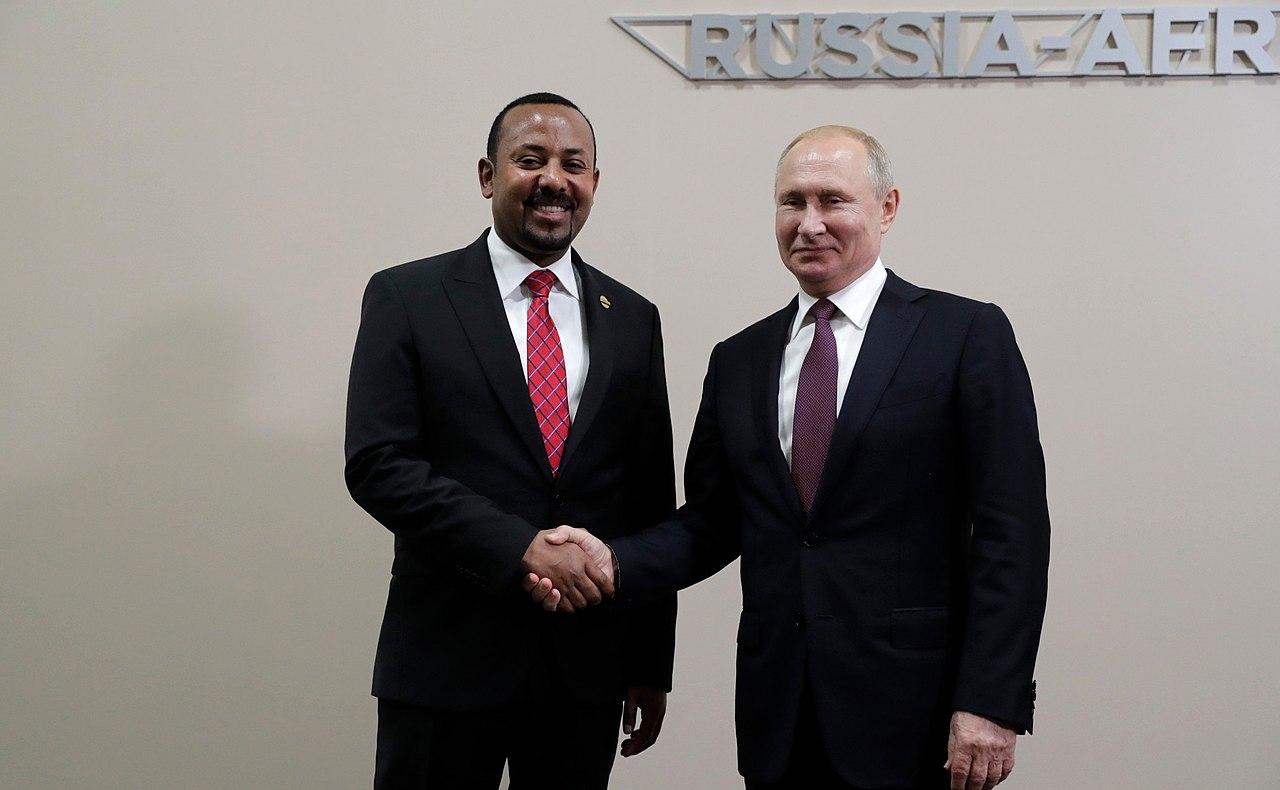 Abiy Ahmed & Vladimir Putin - 2019.jpg