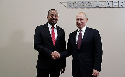 Abiy Ahmed & Vladimir Putin - 2019