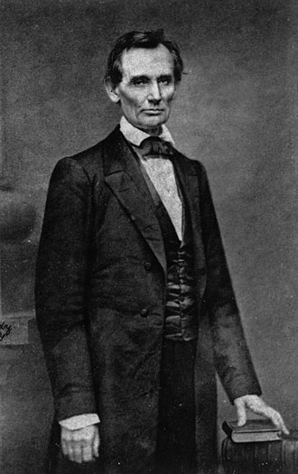 Cooper Union - Photo of Abraham Lincoln taken February 27, 1860 in New York City by Mathew Brady, the day of his famous Cooper Union speech