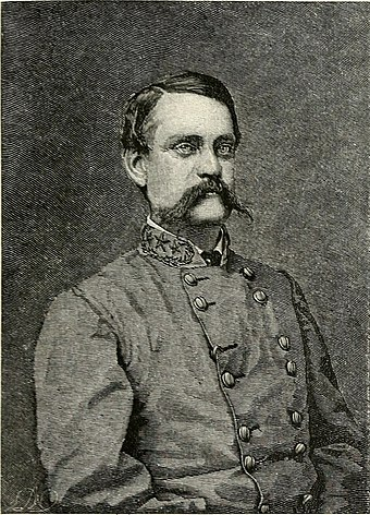 Major-General John C. Breckinridge, Secretary of War from February until May 1865. Abraham Lincoln and the battles of the Civil War (1886) (14739822666).jpg
