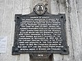Abucay's St. Dominic Church historical marker in Bataan.jpg