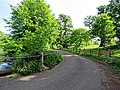 Access road to St Mary's Church, Matching, Essex England 02.jpg