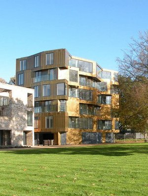 Accordia - Accordia ABA02 – The Alison Brooks Architects designed Brass Building on Kingfisher Way, Cambridge, CB2 8DL