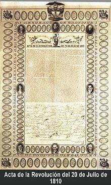 Independencia de Colombia - Wikipedia, la enciclopedia libre