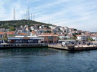 Kınalıada - The ferry landing of Kınalıada