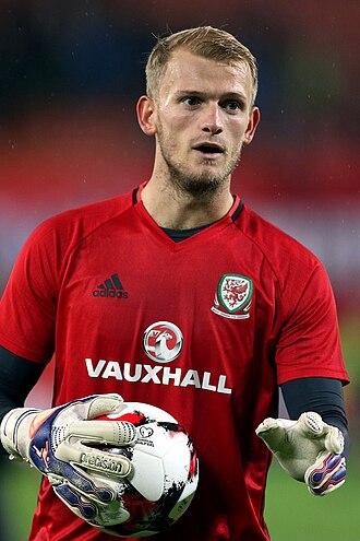 Barnsley F.C. - Current captain Adam Davies