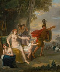 Hector Bidding Farewell To Andromache
