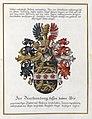 Adelsdiplom - Metz-Kaler zu Lanzenheim 1918 - Wappen.jpg