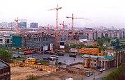 Remodelación de Berlín, tras la reunificación.
