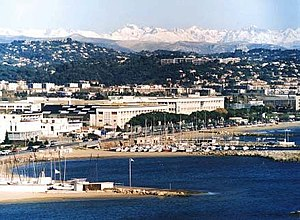 Thales Alenia Space - The Headquarters of Thales Alenia Space in the seashore building of the Cannes Mandelieu Space Center