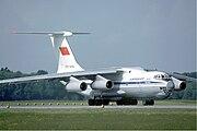 Aeroflot Ilyushin Il-76TD at Zurich Airport in May 1985