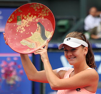 Agnieszka Radwańska - Radwanska won the 2011 Toray Pan Pacific Open