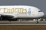Airbus A380-861 Emirates A6-EEI (13450801405).jpg