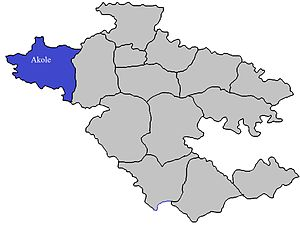 Akole taluka - Image: Akole Tehsil in Ahmednagar District