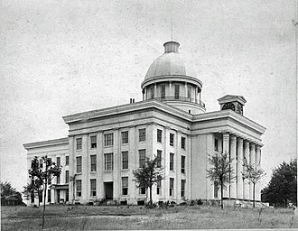 Provisional Congress of the Confederate States - Image: Alabama Capitol NW 1886
