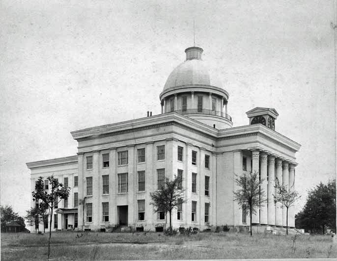 Alabama Capitol NW 1886