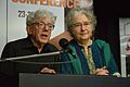 Alan Teller and Jerri Zbiral Presenting Movie - Valedictory Session - International Photographic Conference - PAD-BITM - Kolkata 2017-01-27 3372.JPG