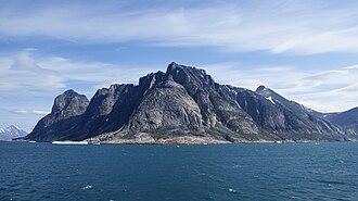 Alanngorsuaq Fjord - Image: Alanngorsuaq fjord mouth
