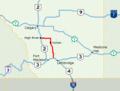 Alberta Highway 23 Map.png