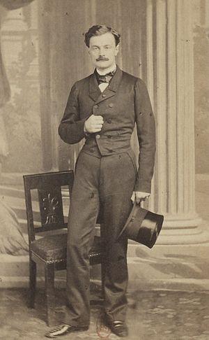 Jérôme David - Photgraph from the Album des députés au Corps législatif entre 1852-1857.