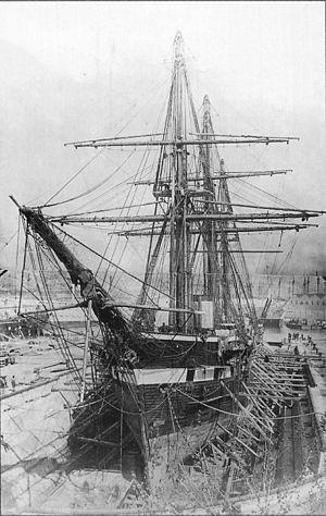 Russian frigate Alexander Nevsky - Alexander Nevsky, 1868, Toulon