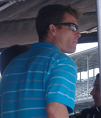 Alex Barron (racing driver) - Alex Barron at the Indianapolis Motor Speedway in 2006.