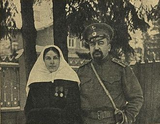 Aleksandr Kuprin - Kuprin and his wife during World War I
