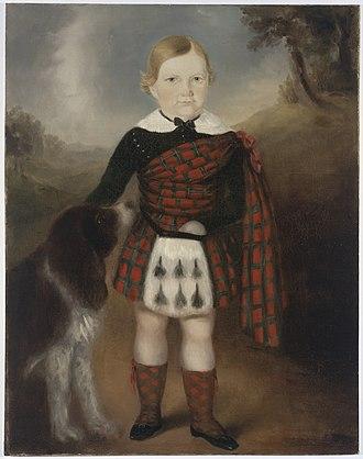 Joseph Backler - Image: Alexander Sinclair , 1846 oil portrait by Joseph Backler a 3151002h