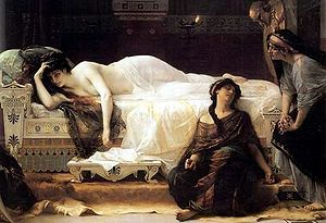 Alexandre Cabanel's painting Phaedra (1880)