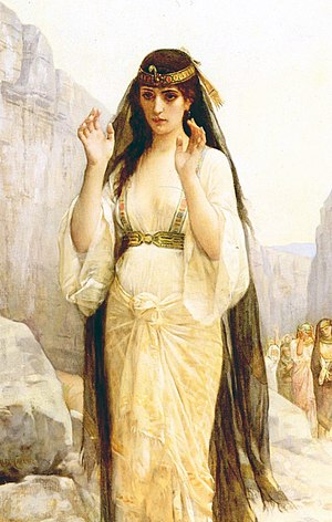 Jephthah - The Daughter of Jephthah, by Alexandre Cabanel (1879).