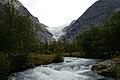 Alfondo el Glaciar Briksdal.Noruega.jpg