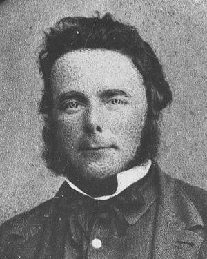 Alfred Saunders - Image: Alfred Saunders, 1865 crop