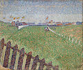 Alfred William Finch - The Wellington Racecourse in Drizzle (Ostende) - Google Art Project.jpg