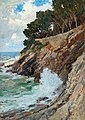 Alfred Zoff - Scene on the Nervi coast.jpg